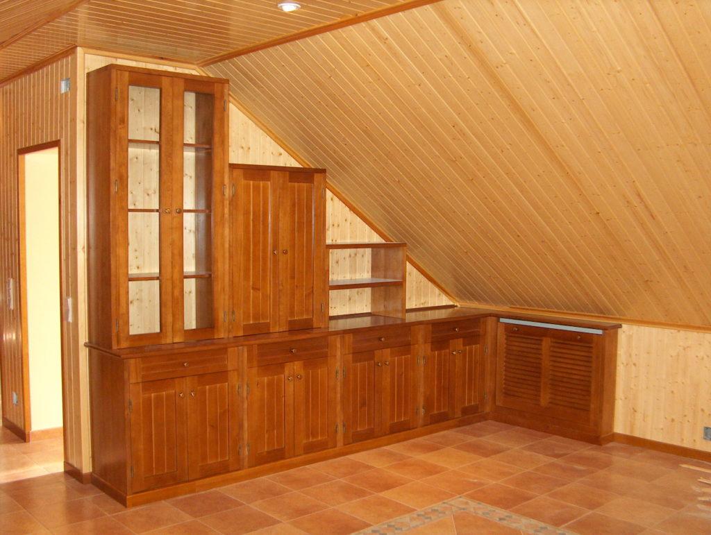 Muestra de algunos de nuestros trabajos mora carpinteros - Muebles buhardilla ...