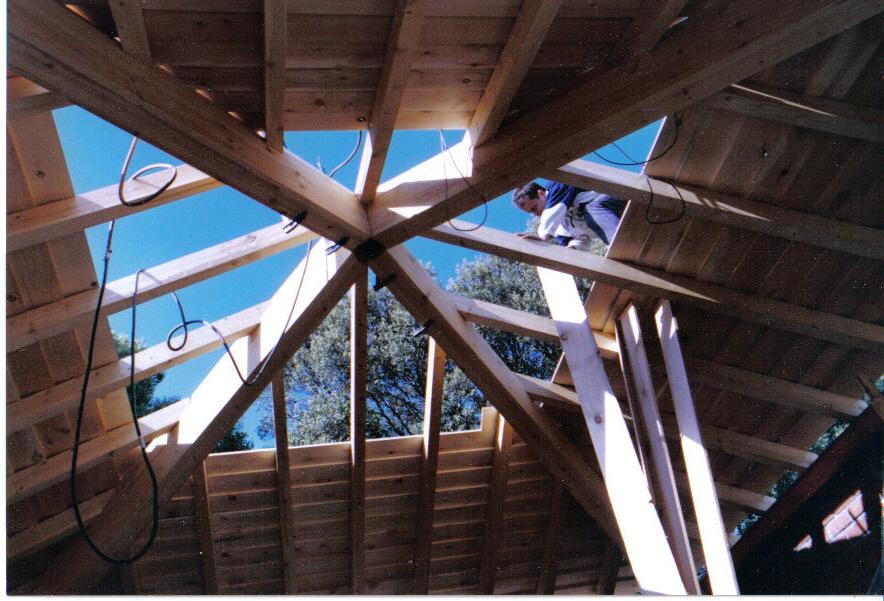 Muestra de algunos de nuestros trabajos mora carpinteros for Tejados madera blanca